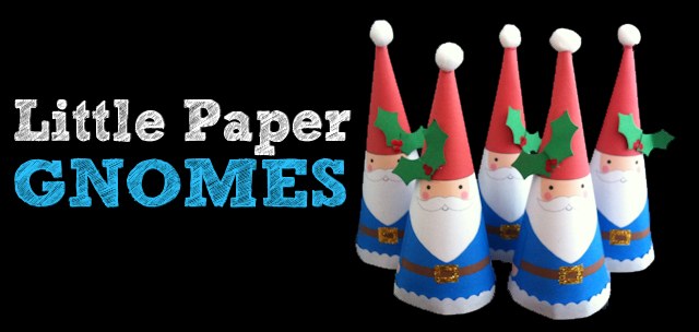 Little Christmas Gnomes Ornament Tutorial