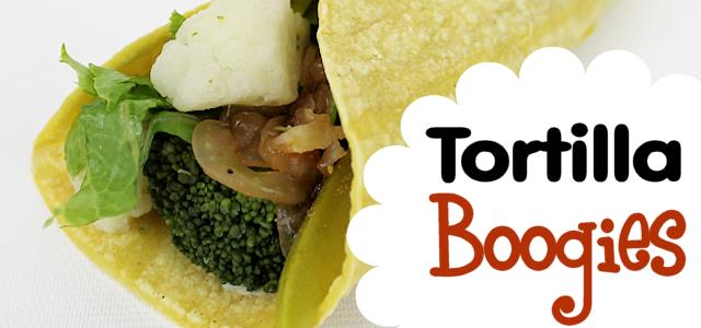 Most Delicious Vegetarian Wrap Recipe Ever! Tortilla Boogies