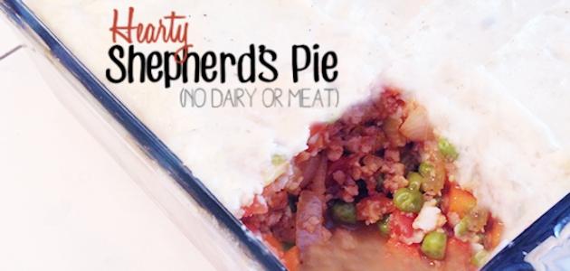 Hearty Shepherd's Pie (No Dairy or Meat)