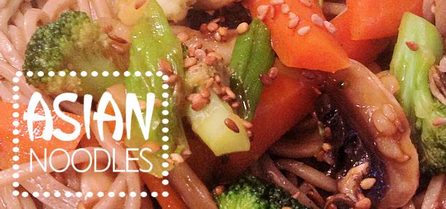 Asian Veggies & Noodles