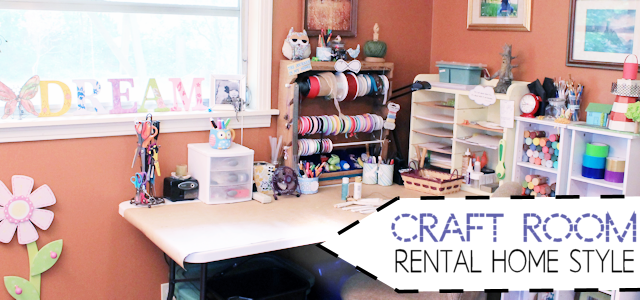 Craft Room : Rental Home Style