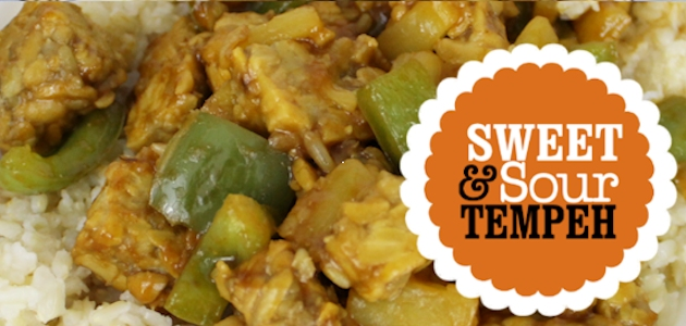 Quick Sweet & Sour Tempeh :: Opposites Attract