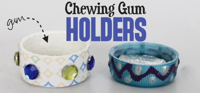 Chewing Gum Holder/Saver