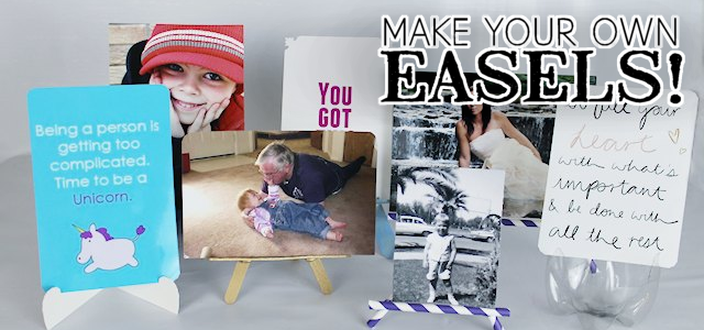 Make Your Own Easels! (Free Printables)