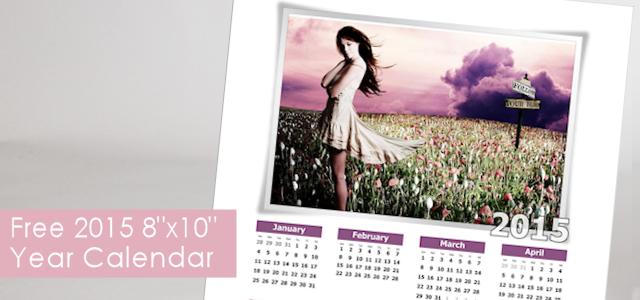 "Free ""Follow Your Bliss"" 8×10 Year Calendar"