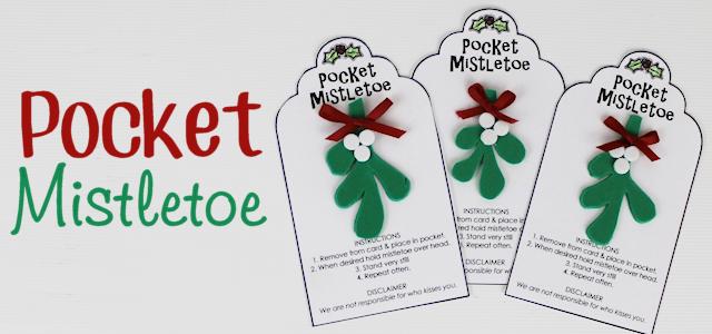 pocket mistletoe diy for quick kisses. Black Bedroom Furniture Sets. Home Design Ideas