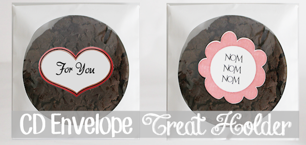 CD Envelope Treat Holder With Printables