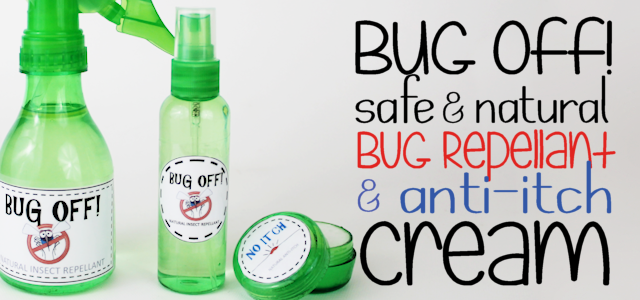 Natural Bug Spray Repellant & Anti-Itch Cream