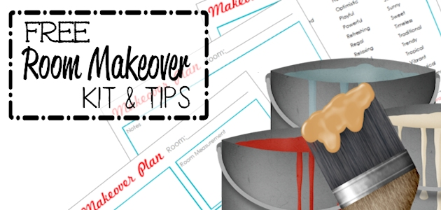 Room Makeover Free Kit &Tips FE
