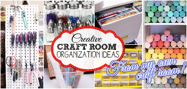 Most Creative Craft Room Organization Ideas FE