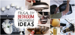 Looking for frugal DIY bedroom decorating ideas? We've got a lot of them to inspire you! You'll be amazed at what you can do with things you already have.