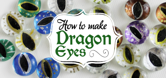 Dragon Eyes : A Dragon Craft for Adults & Kids Alike!