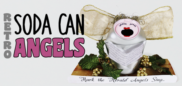 Retro Christmas Craft : Soda Can Angels