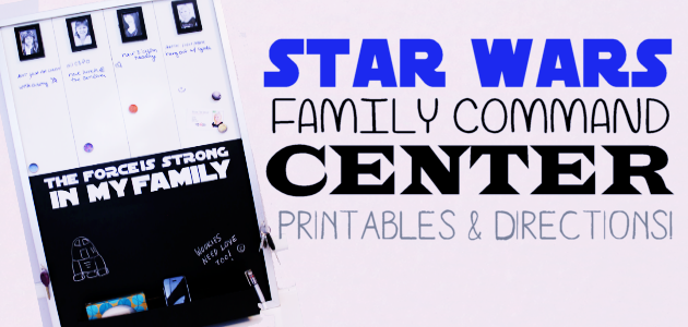 Star Wars Family Command Center FE