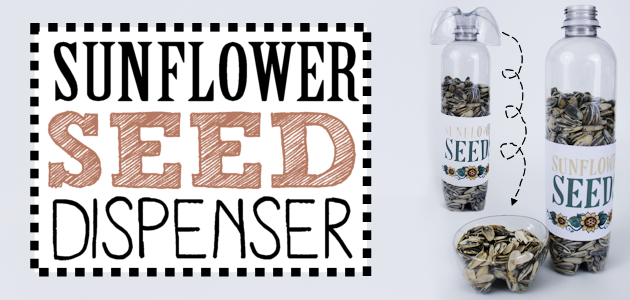 DIY Human Sunflower Seed Dispenser