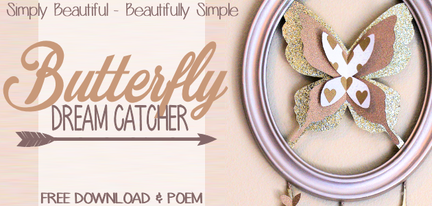 How to Make a Butterfly Dream Catcher with Special Meaning