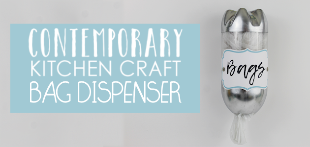 Contemporary Kitchen Craft Series : Bag Dispenser