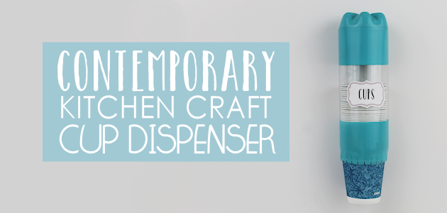 Contemporary Kitchen Craft Series : Cup Dispenser