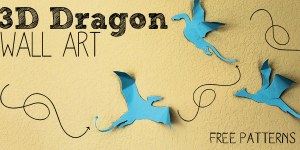Get Your Free Download for an Amazing 3D Dragon Craft