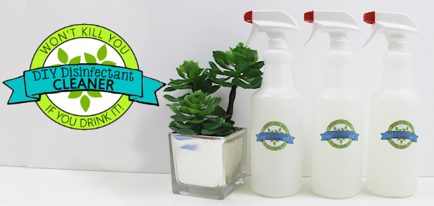 DIY Disinfectant Cleaner FE