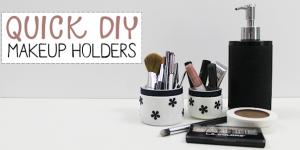 DIY Makeup Storage : Case Study