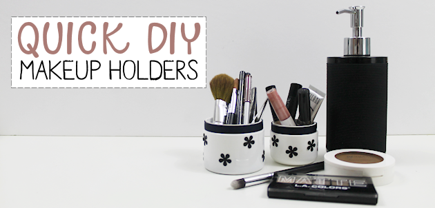 DIY Makeup Storage : Case Study