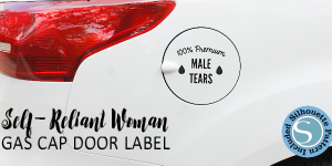 Car Stickers for the Self-Reliant Woman