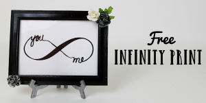 Free Couples Infinity DIY Bedroom Decor
