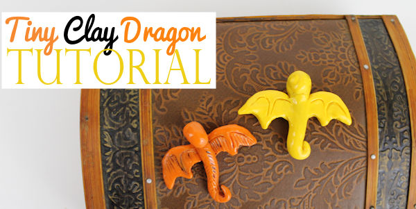 Make a cute little clay dragon that can be used as a necklace, pin, magnet or anything else you can think of. Our step by step instructions make it simple!