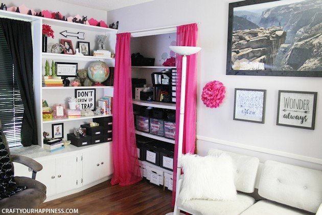 Final Reveal of My Whimsical Home Office Ideas! ·