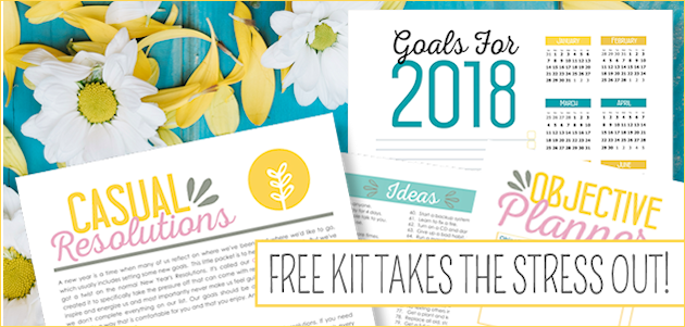 Casual Resolutions Kit 2018 : How to Make Goal Setting Fun!