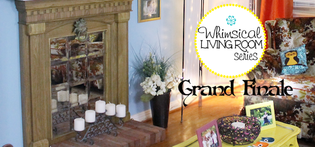 Whimsical Living Room #11 : Grande Finale Photos