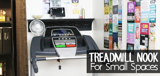 Treadmill Nook : Create A Fun Exercise Corner