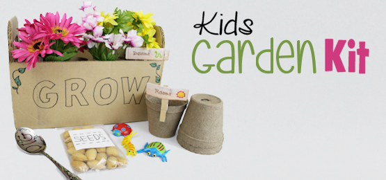 Make a Pretend Kids Garden Kit