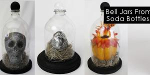 Specimen Jar Halloween Decor from Plastic Bottles