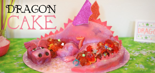 Dragon Cake : A Visual DIY