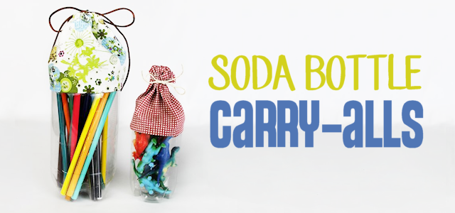 Soda Bottle Carry Alls