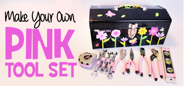 Make Your Own Pink Tool Set