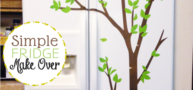 Simple Fridge Makeover!