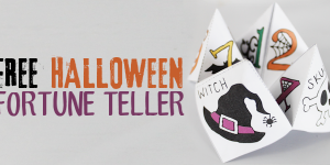 Free Halloween Cootie Catcher Template