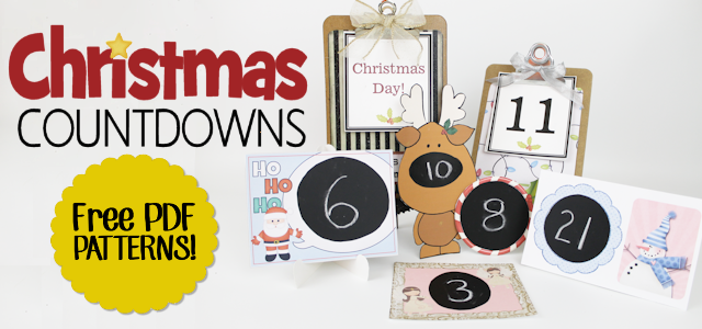 Christmas Countdowns  With Free Patterns!
