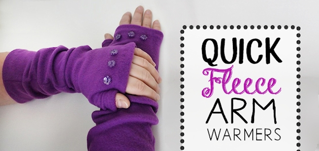 Quick Fleece Arm Warmers FE