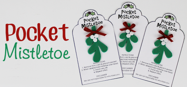 Pocket Mistletoe DIY For Quick Kisses!