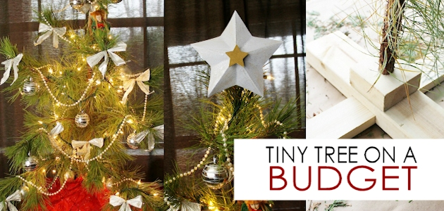 Small Tree, Star Pattern & Stand On a Budget