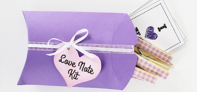 Make a Quick Love Note Kit