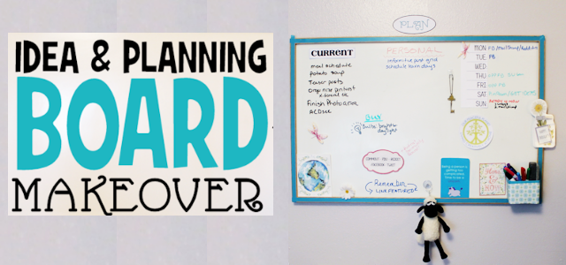 Planning Inspiration Board Makeover