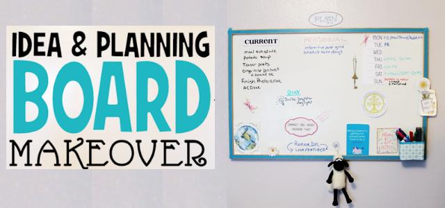 Planning Inspiration Board Makeover