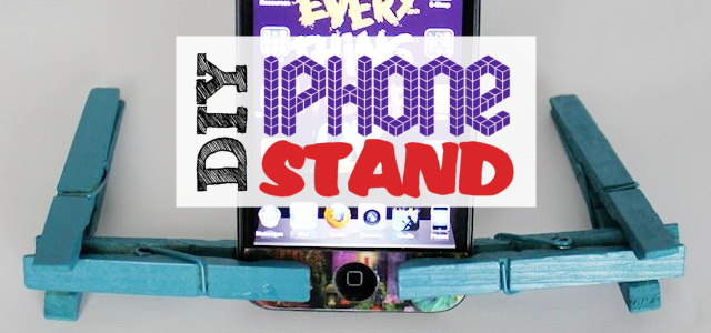 iPhone Stand (Works for Most Smart Phones)