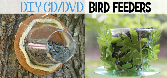 Turn Old CD's & Plastic Cups into Bird Feeders