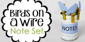 Birds on a Wire Note Set